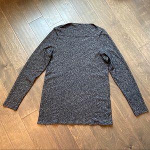Eileen Fisher Bateau neck long sleeve top tunic